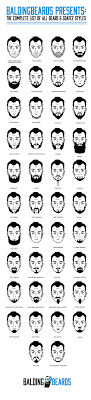 Mustache Styles Chart 27 Best Beard Styles For Men That Will Make You Look Great