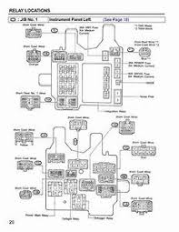 2003 toyota camry fuse box location 2003 Toyota Camry Fuse Diagram Data Link Wiring