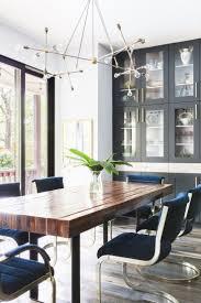 contemporary dining room lighting ideas. Delighful Lighting Breathtaking Blue Rectangle Modern Metal Dining Room Lighting  Varnished Ideas For Contemporary Dining Room Lighting Ideas O