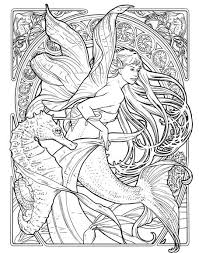 art nouveau coloring pages herb leonhard fae b nouveau coloring b book coloring pics colorful s funny and seahorses