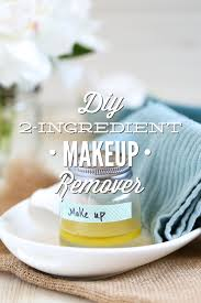 diy 2 ing makeup remover without coconut oil