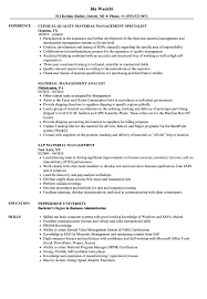 Materials Manager Resume Materials Manager Resume Marketing Communication Job Material 10