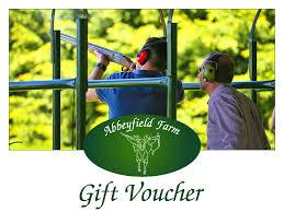 clay pigeon shoot 40 bird air range abbeyfield farm clay shooting gift voucher