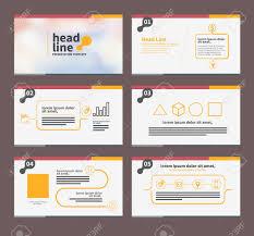 Presentation Template Flat Design Set For Brochure Flyer Marketing ...