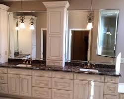 white bathroom cabinets with granite. Brilliant White White Bathroom Cabinets With Dark Countertops Granite Glass 2018   Beautiful Images To B