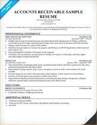 accounts receivables resumes account receivables resume good accounts receivable duties for