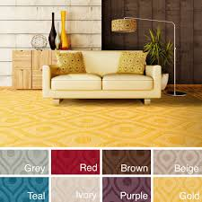 home design yellow lattice rug hand woven abi tone on wool 5 x 75 24y the