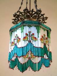 chandeliers chandelier shades with bead red beaded silver blue black lamp