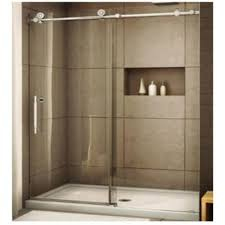 shower enclosure sliding frameless