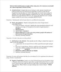 persuasive speech outline sample example  new persuasive speech outline template