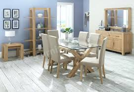 round glass dining room table and chairs glass dining room furniture endearing decor oak dining room