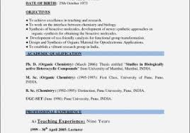Sample Resume For Teachers In India Pdf Fresh Teachers Resume Best