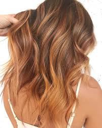 Hair Color Summer Sunset