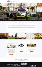 Marquee Website Design Bsw Marquees Elegant New Website Design Silkstream