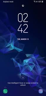 Screen Picture How To Change The Lock Screen Shortcuts On Your Galaxy S9