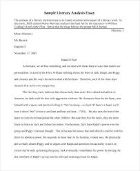 Example Of A Analysis Essay Literary Interpretation Essay Examples Magdalene Project Org