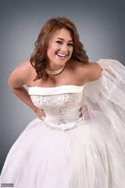 صورة مروة عبد المنعم ترتدي فستان الزفاف من جديد - ليالينا
