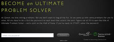 qwest ultimate problem solver online game