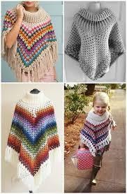 Free Crochet Poncho Patterns Cool 48 Free Crochet Poncho Patterns For All Free Crochet Poncho