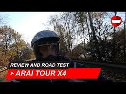 arai tour x4 full face adventure helmet