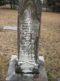 Fannie Amelia Sims Andrews (1851-1895) - Find A Grave Memorial