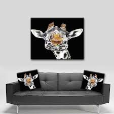 watercolor canvas wall art beautiful giraffe canvas art matching throw pillow sold seperately on matching canvas wall art with watercolor canvas wall art beautiful giraffe canvas art matching