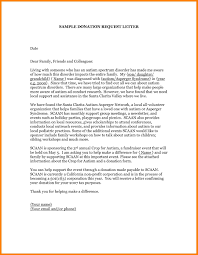 Donation Letter Sample The Most Important Sentence You Will Ever
