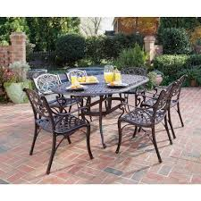 cool wrought iron patio dining set home styles sets