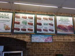 subway menu board. Simple Subway Subway The Menu Board Note They Have Pizza Inside Subway Menu Board G