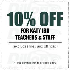 10 Off Coupon Template Coupon 10 Off For Katy Isd Teachers And Staff Dillons