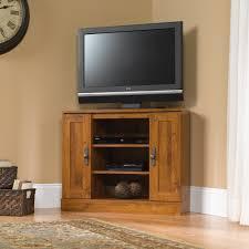 Tv Entertainment Stand Harvest Mill Corner Entertainment Stand 404962 Sauder