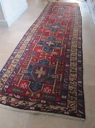 antique hand knotted eastern rug long runner circa 1900 s 3 2 mts hall