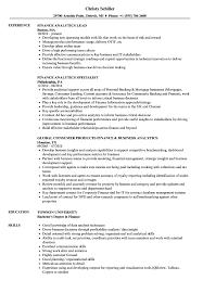 Analytical Skills Resumes Finance Analytics Resume Samples Velvet Jobs