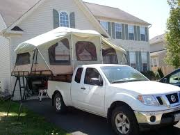 Truck Tent Bed Trailer Camping Rooftop Pickup Cover Top Camp Canopy ...