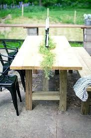 outdoor farmhouse table furniture decor patio diy chair cushions