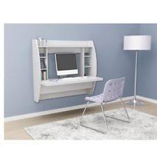 wall mounted office desk. floating wall mount office computer laptop shelf desk storage home workstation mounted