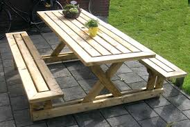 full size of interior good looking wooden picnic table 37 large size of tables round