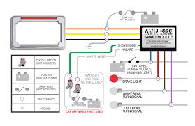 brake light wiring diagram motorcycle wirdig brake light wiring diagram fog light wiring chrome ayn motorcycle license plate frame amp smart module combo