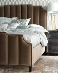 california king bed. Bree Channel-Tufted California King Bed