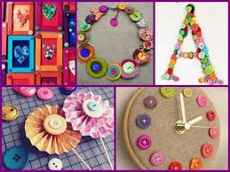 Small Picture 35 Interesting DIY Button Ideas homemade room decor YouTube