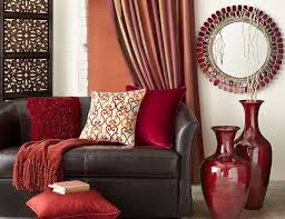 Brown And Red Living Room Ideas Awesome Decoration