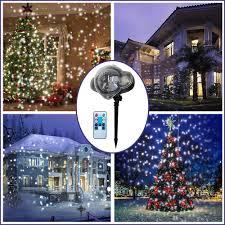 104 Led Snowflake Motion Lights Led Projector Light Christmas Snowfall Light Waterproof