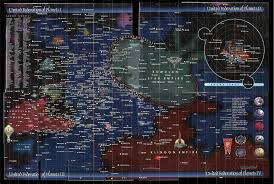 Is There A Galactic Map Showing The Homeworlds Of The