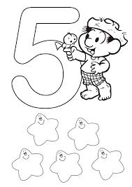 Small Picture Kids Learn Learn Number 5 Coloring Page Bulk Color