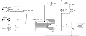 cables and wiring audio bridging switching system