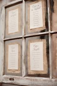 Rehearsal Dinner Seating Chart Ideas Seating Chart With Burlap Old Door B Ts Wedding Stuff