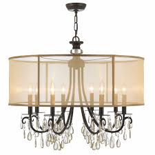 full size of living dazzling drum chandeliers with crystals 8 wayfair crystal elegant crystorama hampton light