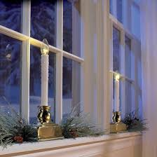 Battery Operated Window Lights Led Candle Christmas Decoration Window Light Battery Operated 4 Pack Timer