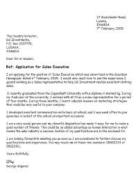 Employment Cover Letter Template        Free Word  PDF Documents
