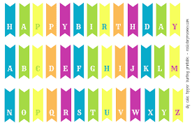 Happy Birthday Sign Templates Happy Birthday Banner Free Printable Paper Trail Design Inside